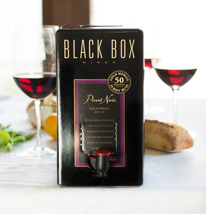 Black Box Wine Pinot Noir