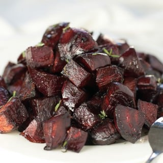 Honey Roasted Beets with Balsamic and Thyme