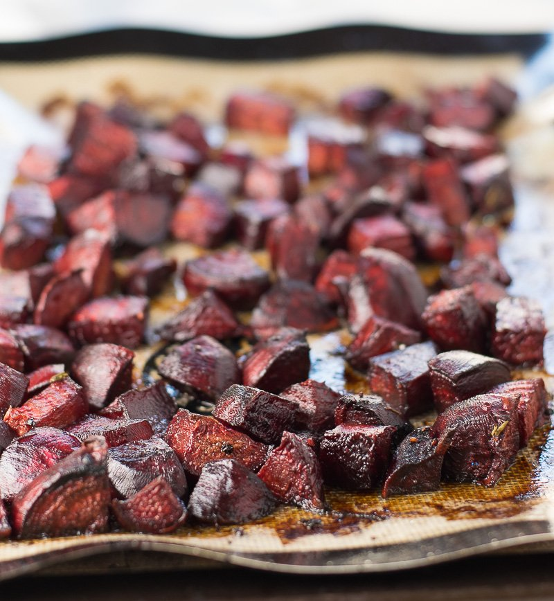 ... enough to make my Honey Roasted Beets with Balsamic and Thyme recipe