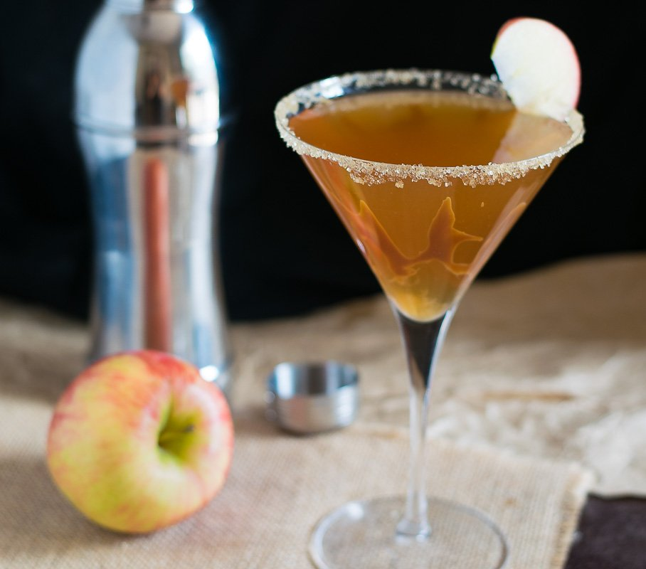 Wonderful Caramel Apple Cider Martini