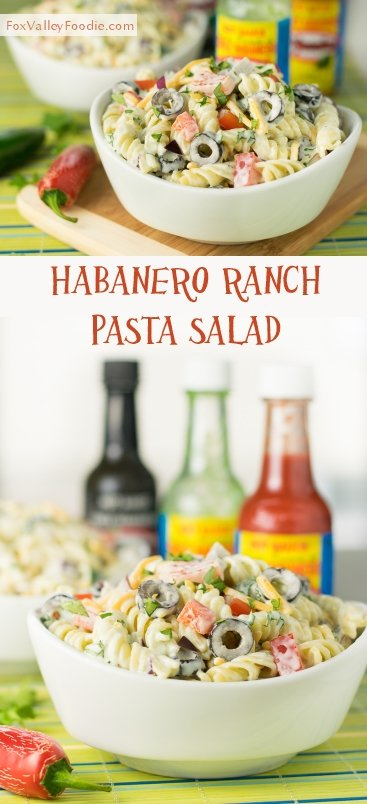 Habanero Ranch Pasta Salad