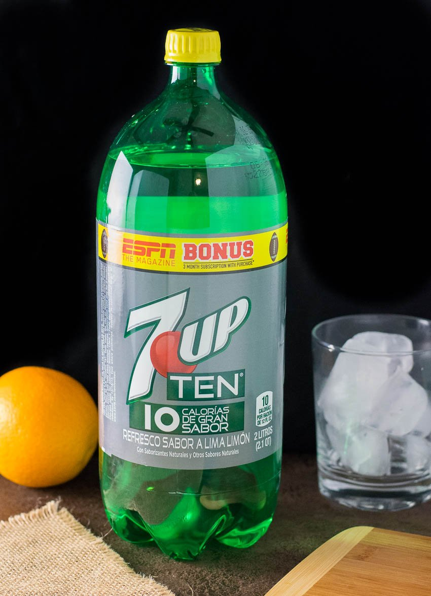 Cranberry Orange Mocktail 7UP TEN