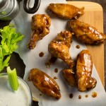 Honey Hoisin Asian Wing Sauce recipe