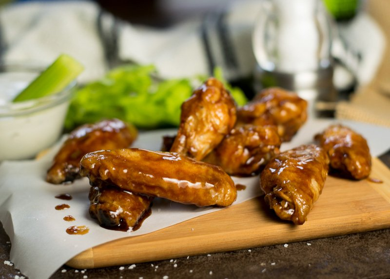 Honey Hoisin Asian Wing Sauce