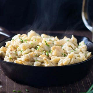 How to make homemade spaetzle