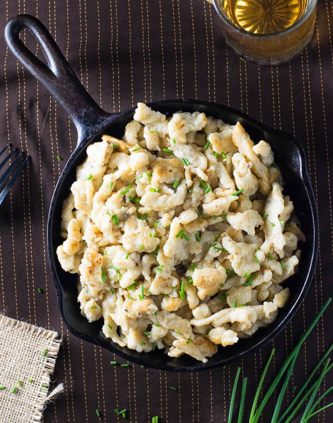 How to make homemade spaetzle recipe