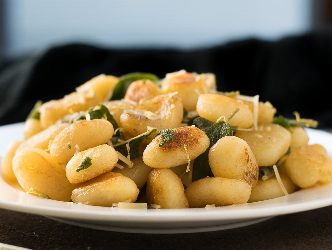 Pan-Seared Gnocchi with Brown Butter Sage Sauce Recipe