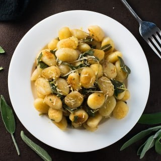 Pan-Seared Gnocchi with Brown Butter Sage Sauce