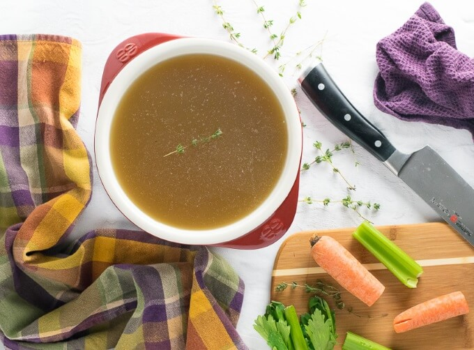 Chicken Stock - Beef Stock
