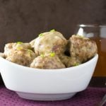 Cocktail Meatballs in Garlic Butter Sauce