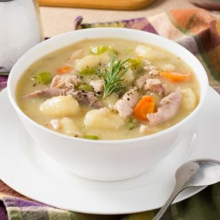 Creamy Turkey and Gnocchi Soup