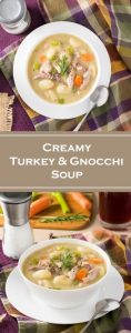 Creamy Turkey and Gnocchi Soup recipe