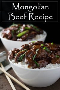 Mongolian Beef Recipe #asian #mongolian #beef #rice