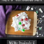 M&M's Christmas Bark recipe