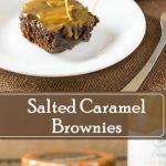 Salted Caramel Brownies Dessert Recipe