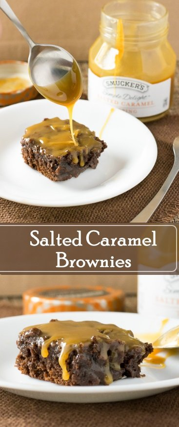 Salted Caramel Brownies Dessert Recipe
