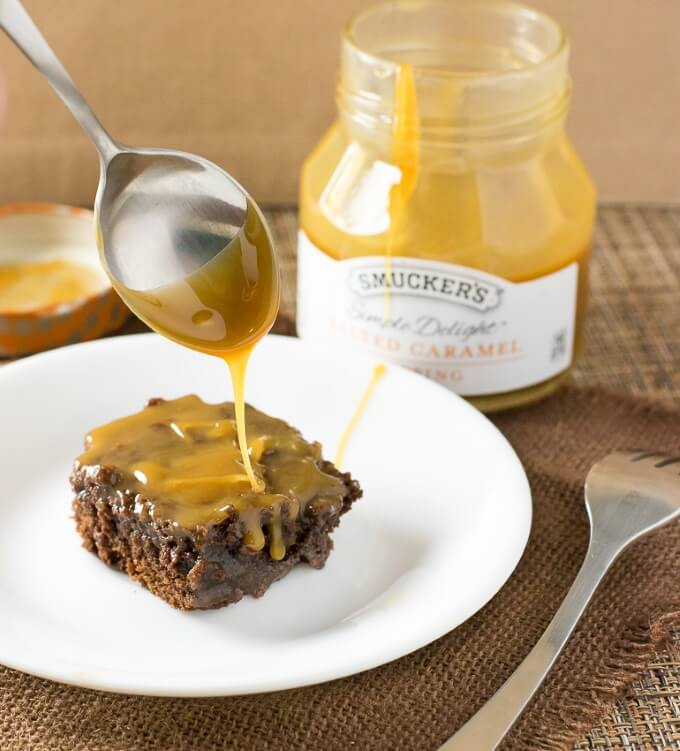 Salted Caramel Brownies Dessert