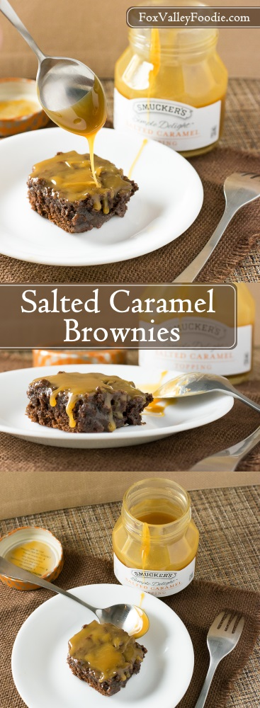 Salted Caramel Brownies