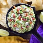 Blue Cheese and Bacon Guacamole Dip recipe