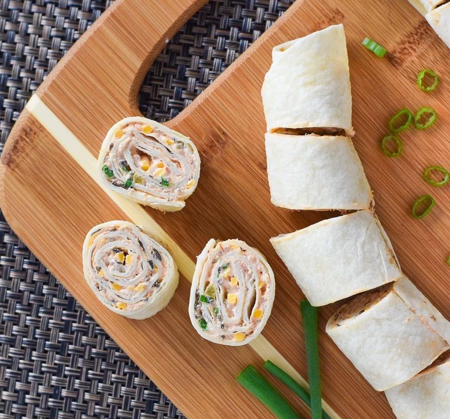 Mexican Tortilla Pinwheels Pace Salsa