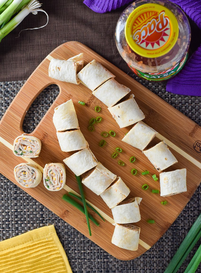Mexican Tortilla Pinwheels recipe