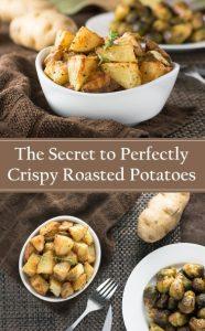 The Secret to Perfectly Crispy Potatoes #potatoes #sidedish