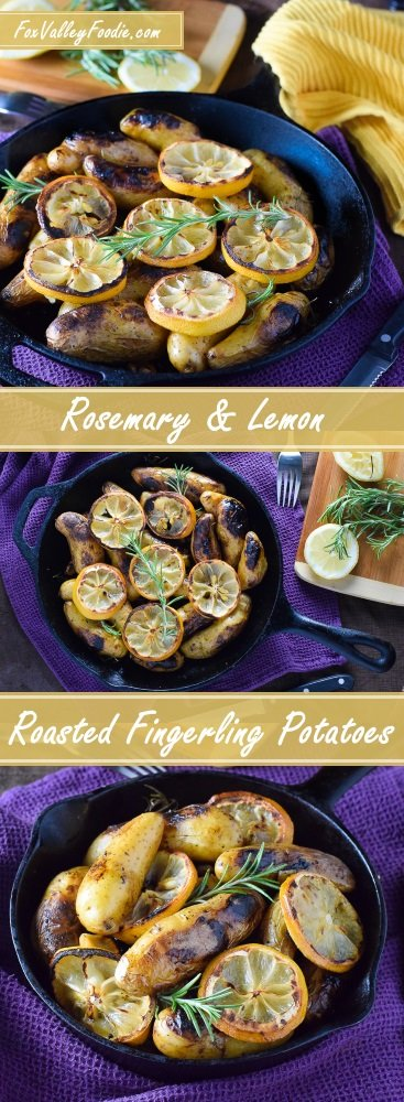 Rosemary and Lemon Roasted Fingerling Potatoes