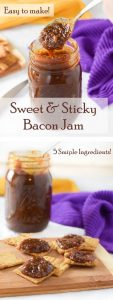 Sweet and Sticky Bacon Jam Recipe - Easy Appetizer