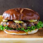 Vegetarian Black Bean Burger recipe