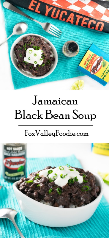 Jamaican Black Bean Soup