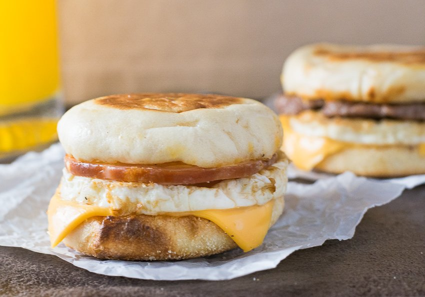 How to make a homemade sausage egg mcmuffin