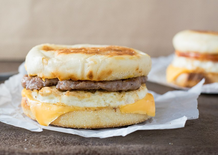 McDonald's Sausage McMuffin with Egg Recipe