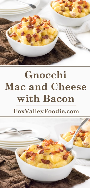 Bacon Mac and Cheese Gnocchi