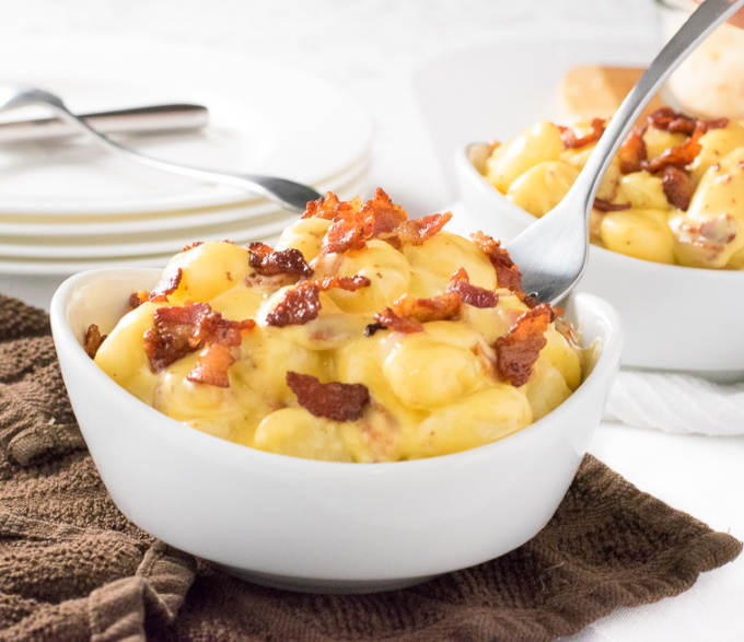 How to Make Gnocchi Mac and Cheese