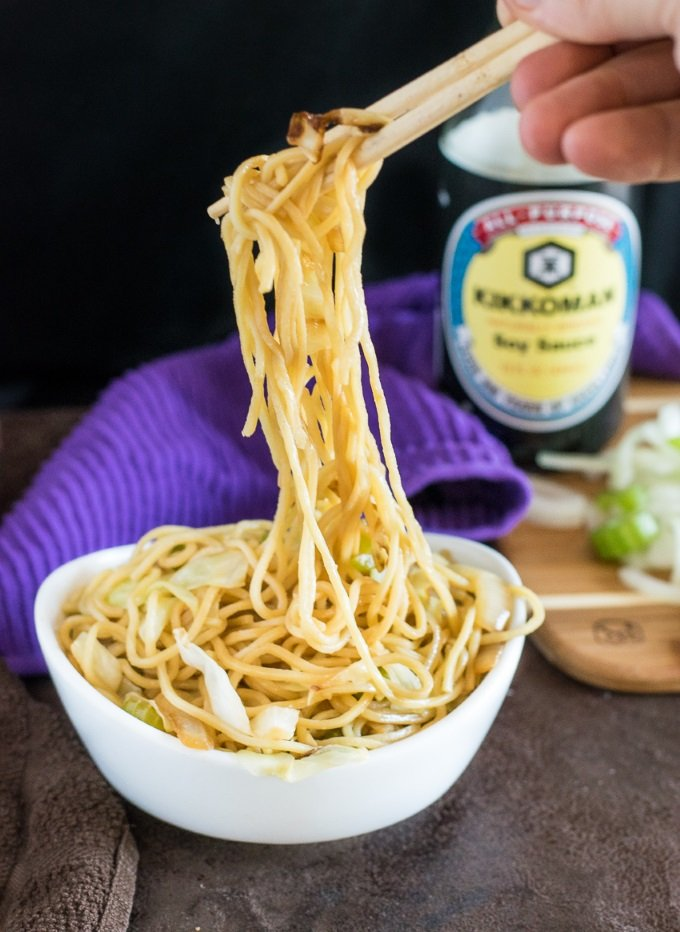 Panda Express Chow Mein Noodles