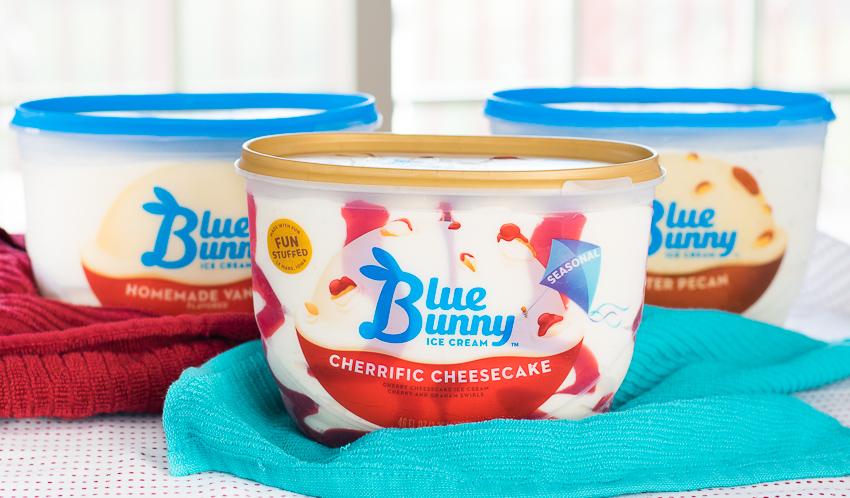 Cheesecake Ice Cream Bites Blue Bunny