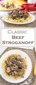 Classic Beef Stroganoff recipe