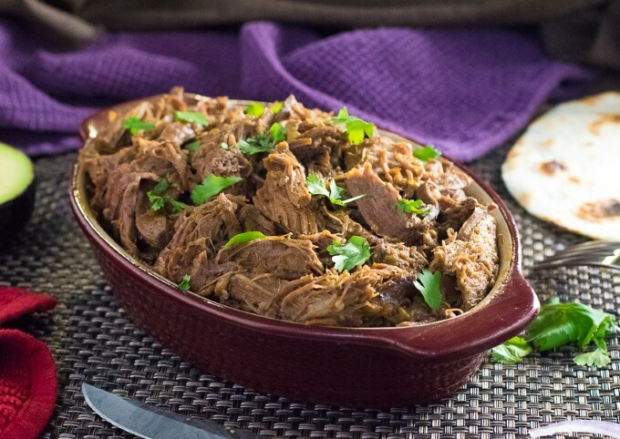 Crock Pot Mexican Shredded Beef Recipe