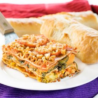 Engine 2 Healthy Vegetable Lasagna