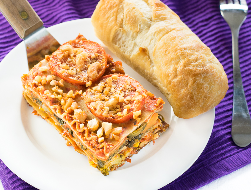 Engine 2 Healthy Vegetable Lasagna Recipe