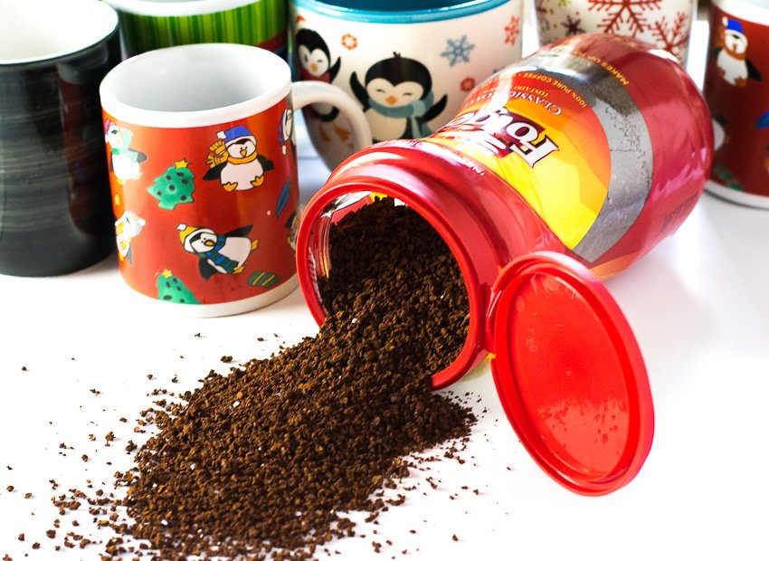 Folgers Instant Coffee Mugs
