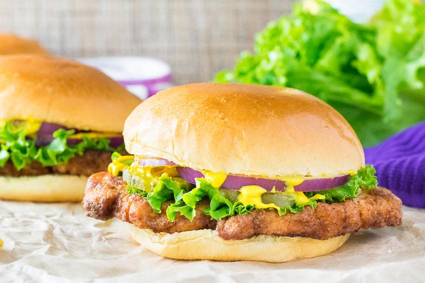 Homemade pork tenderloin sandwich recipe
