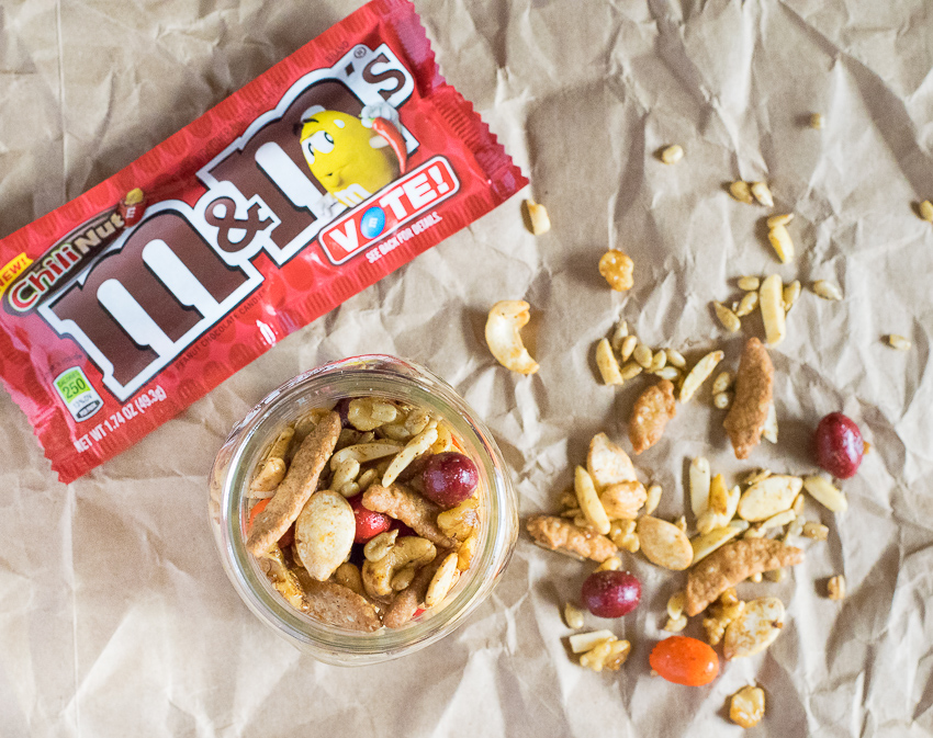 Spicy Trail Mix with M&M's®