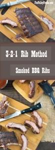 3-2-1 Ribs Method Smoked BBQ Ribs