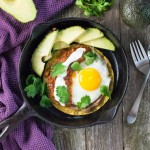 Huevos Rancheros with Chorizo and Avocado