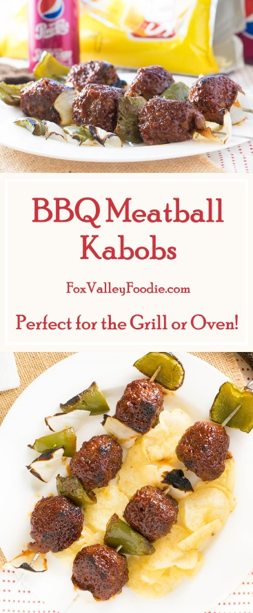 BBQ Meatball Kabobs Recipe - Perfect for the Grill or Oven