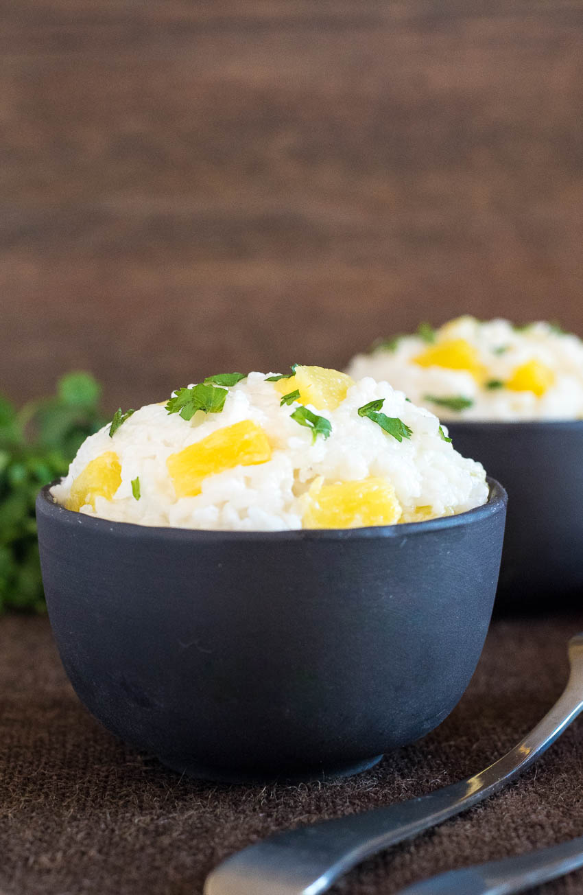 Coconut Milk Rice with Pineapple Recipe