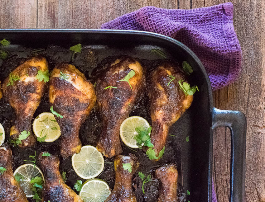 Jamaican Jerk Chicken Drumsticks Recipe