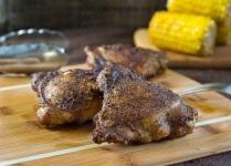 Crispy Smoked Chicken Legs