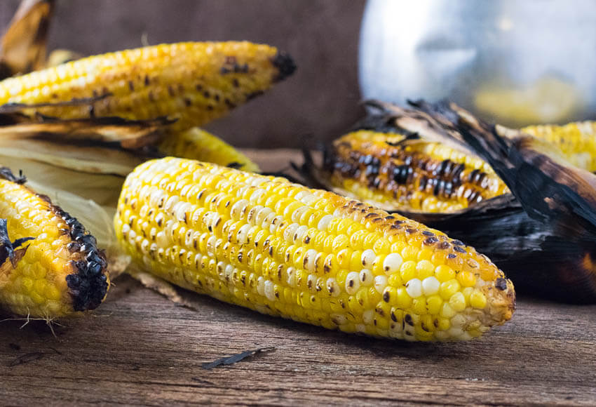 How to Grill Corn on the Cob on Gas or Charcoal